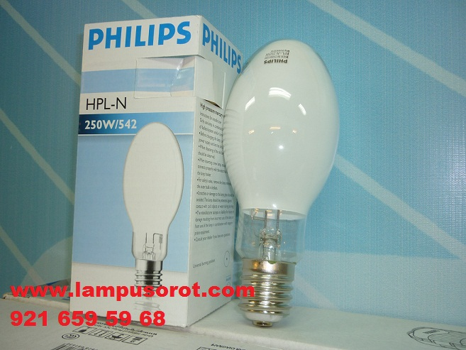 Lampu Mercury HPLN 250 Philips