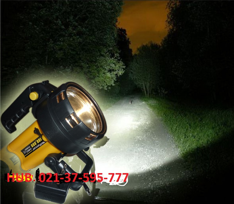 Lampu Senter Halogen Charge
