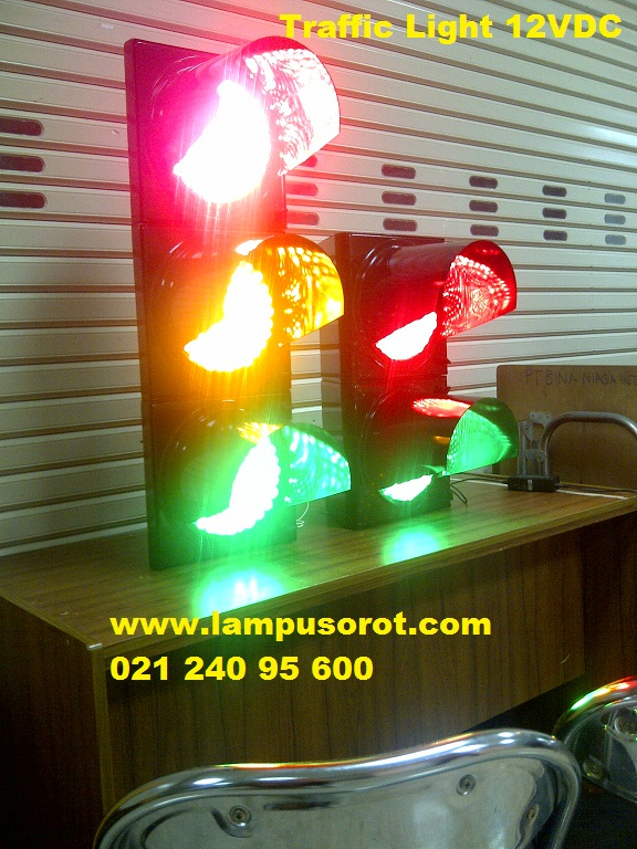 Traffic Light 12VDC