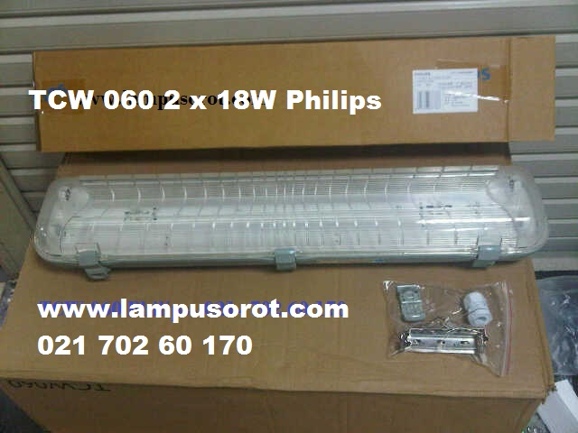 Lampu Waterproof TCW 060 218 IP 65 Philips
