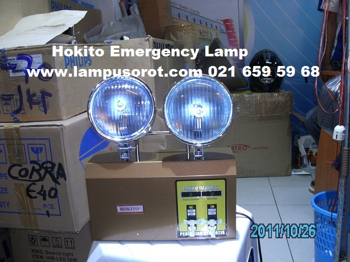 Emergency Lamp Hokito 2x10W