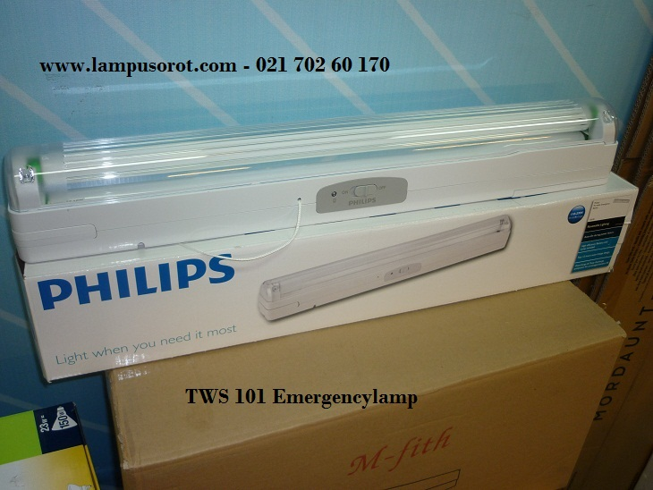 Emergency Lamp TWS 101Philips 1 x 18W