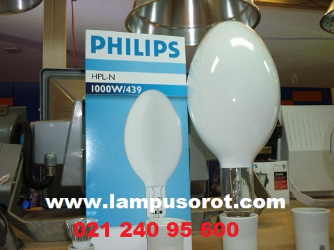 Lampu Mercury HPLN 1000W E40 Philips