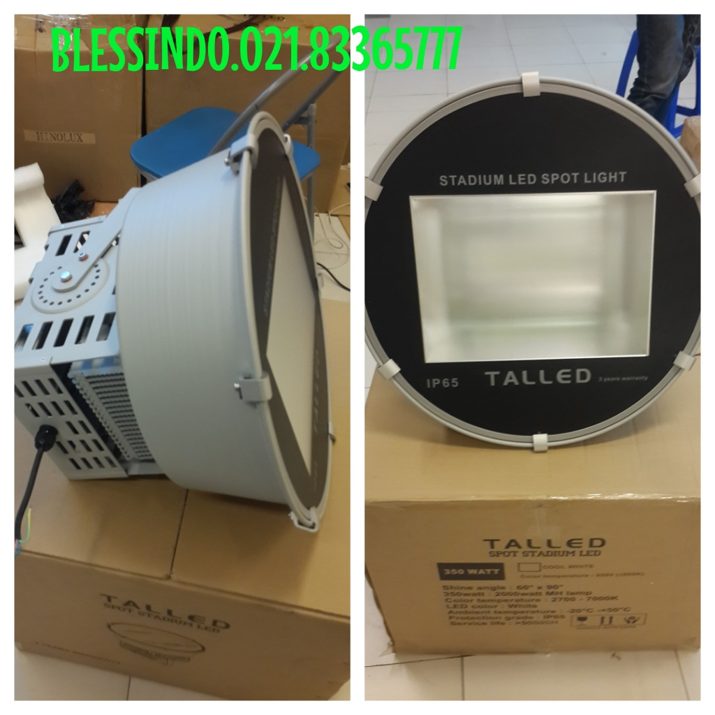 lampu sorot led Stadium 350watt merk Talled