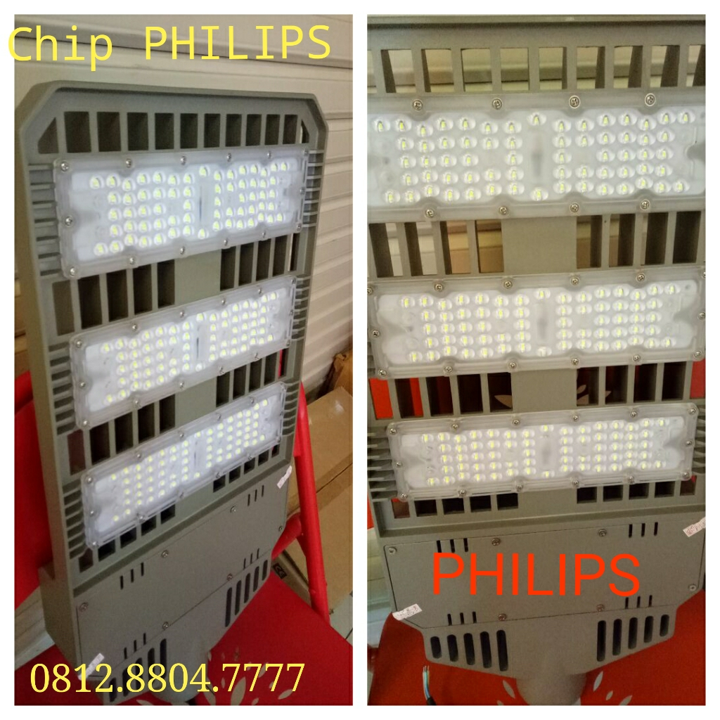 Lampu jalan led chip philips