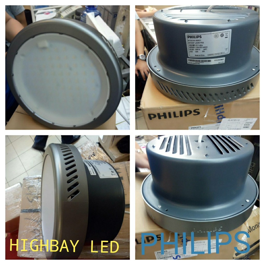 Lampu led industri atau lampu highbay led merk Philips