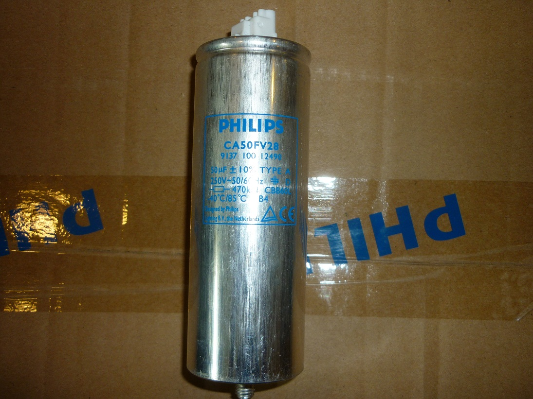 Capacitor 50Mf 250V Philips