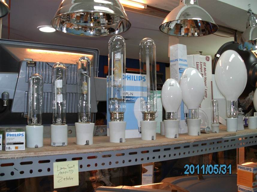 Display Lampu