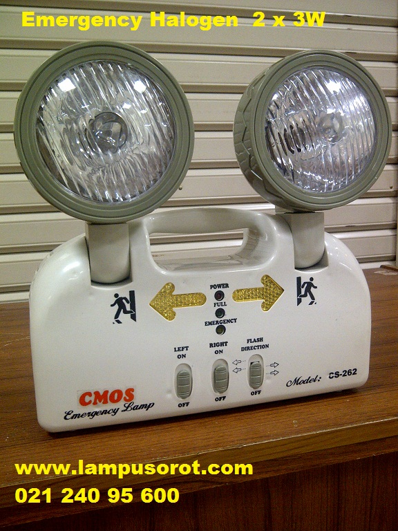 Emergency Lamp Halogen  C'Mos