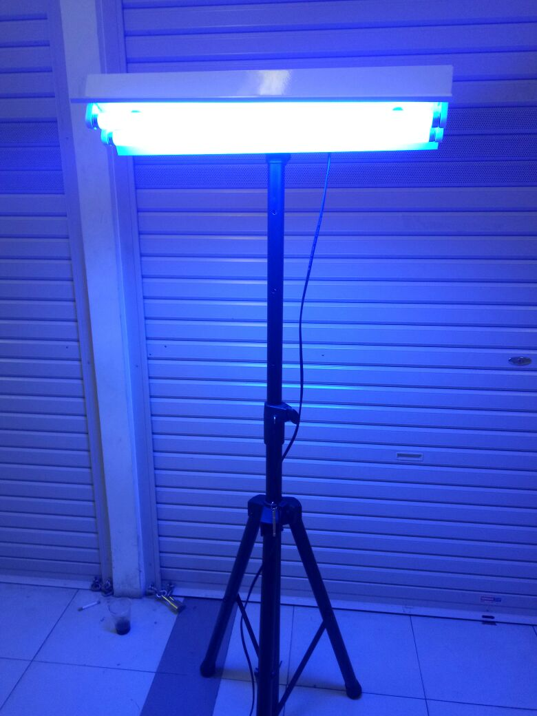 Lampu bayi Blue light osram 18w
