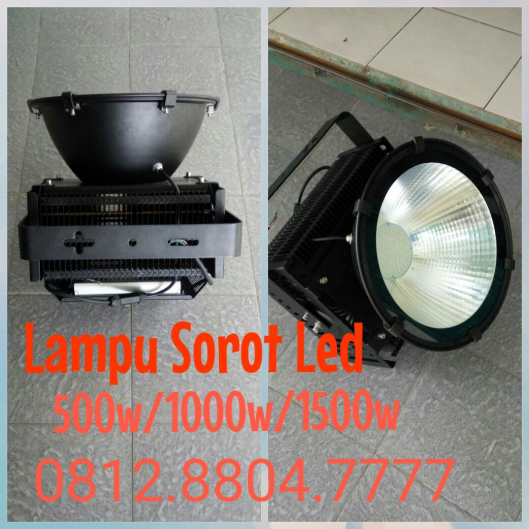 Lampu sorot led 500watt merk Technoled 1000w 1500w