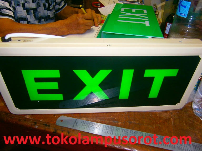 exit emergency lamp