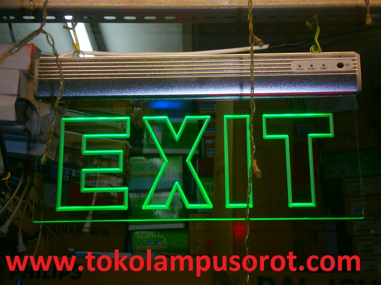 exit emergency lamp LED
