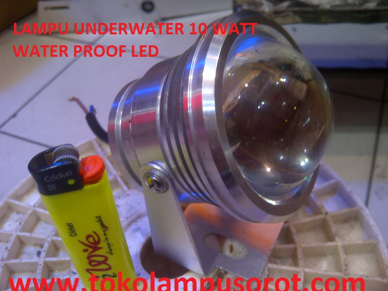 lampu kolam renang LED 10 watt (under water lamp)