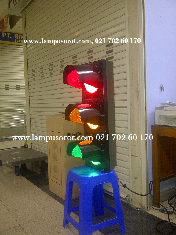Traffic Light 2 Mata Diameter 20Cm