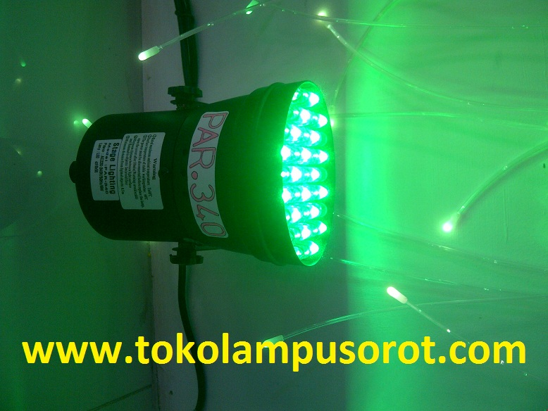 lampu sorot LED PAR-340  6 watt